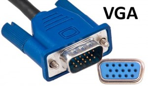 VGA video connector