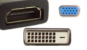 Common video connectors
